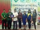 Conferment of the Seal for Child-Friendly Local Governance