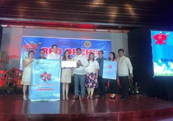 San Vicente bags Red Orchid Awards from DOH