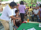""" HEALTH IS WEALTH"" , medical mission at Brgy. Bayubay Sur"