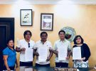 MOA Signing between LGU- CANDON AND LGU-SAN VICENTE