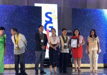 Lgu- San Vicente bags 3rd SGLG Award