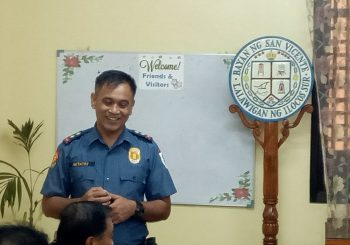 New  Chief of Police pays courtesy call