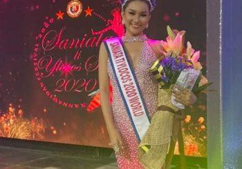 Saniata ti San Vicente bags the Saniata ti Ilocos Sur World Crown 2020