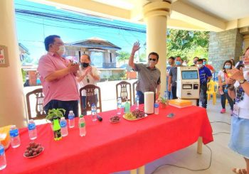 Gracia  Telecom Automated Payment Machine launched in San Vicente
